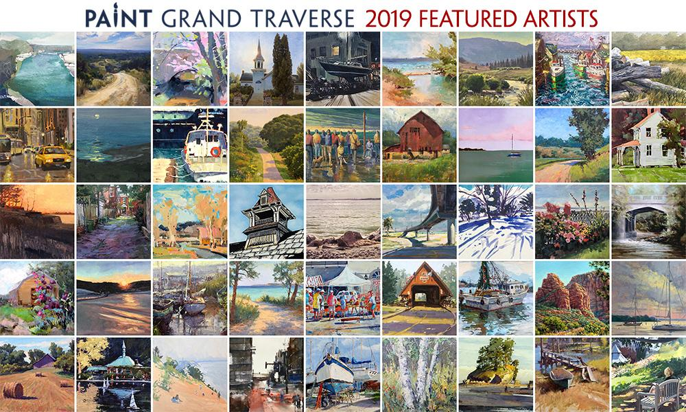 paint Grand Traverse Featured Artists
