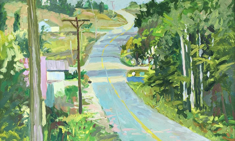 Center Road by Justin Shull